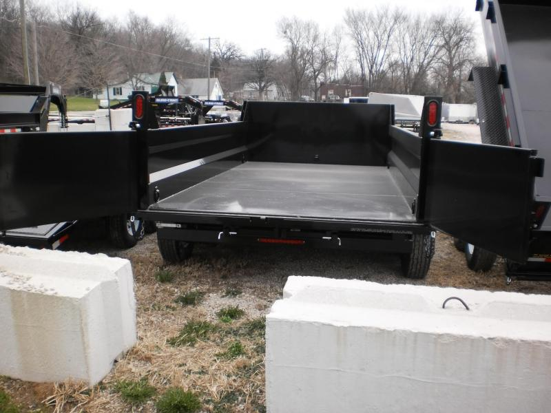 FOR RENT ONLY #23 82x12 Dual Ram Dump Trailer