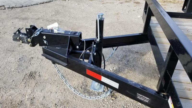 2020 Sure-Trac 7x20 Tube Top Utility Trailer w/Surge Brakes 10k