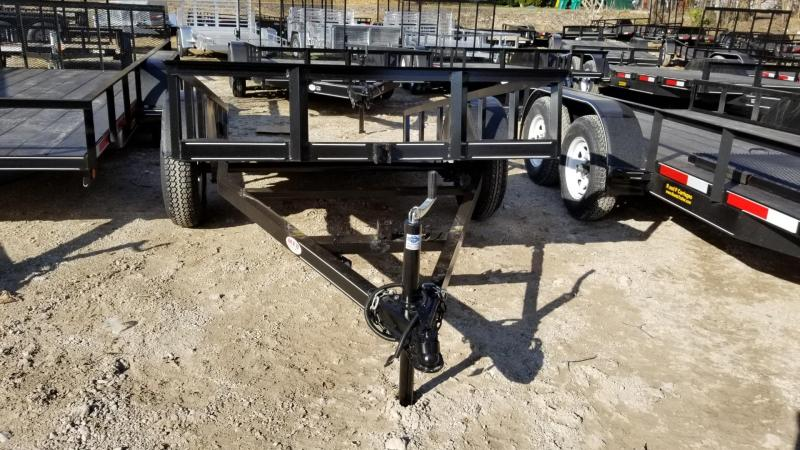 2020 MEB 5x10 Angle Iron Tilt Utility w/Board Holders 3.5k