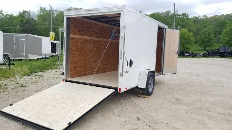 2021 Pace 6x12 Outback Deluxe Cargo Trailer 3k