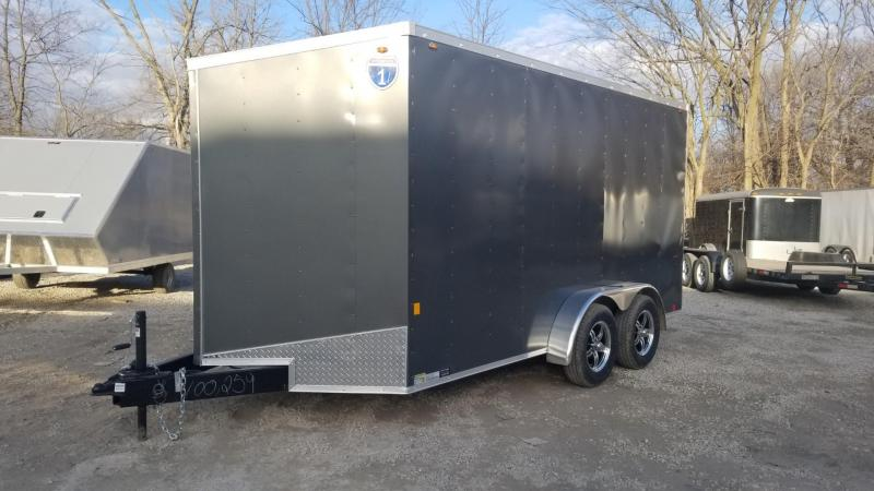 2020 Interstate 7x14 SFC Enclosed Cargo Trailer 7k
