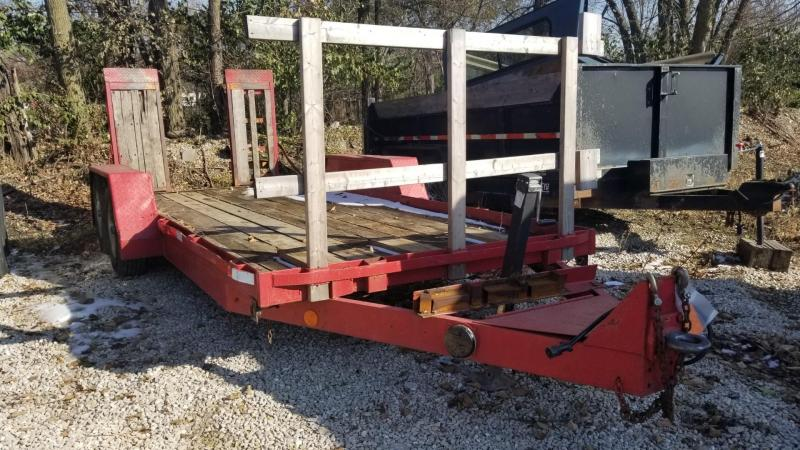 1999 Winston 6.4x16 Equipment Trailer w/Ramps Equipment Trailer