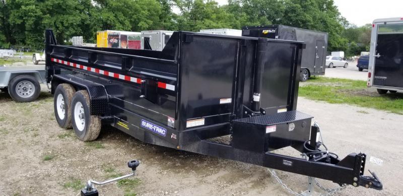 2020 Sure-Trac 82x12 Telescopic Dump Trailer 12k