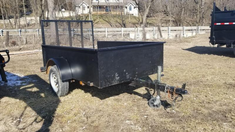 2007 Teske 5x8 High Sided Utility Trailer w/Gate 2k