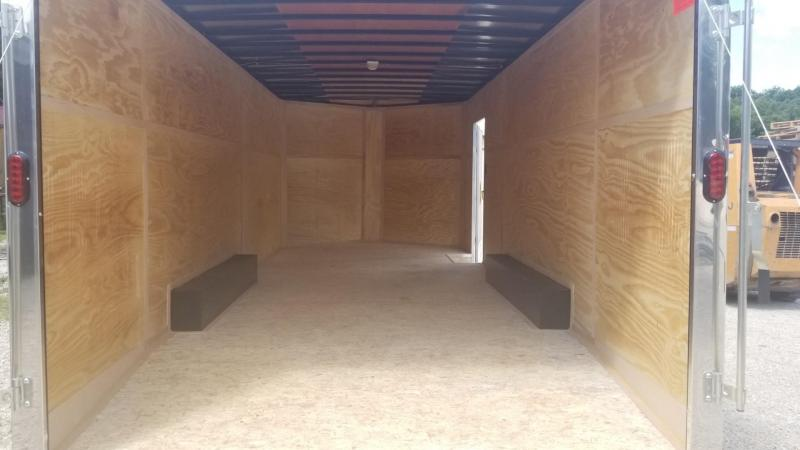 2020 Interstate 8.5x20 SFC Steel Enclosed Car Hauler Trailer 10k