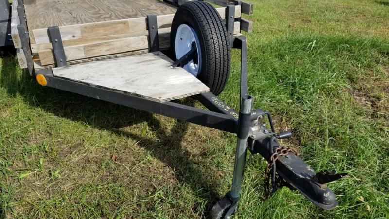 1984 Homemade 5x10 Utility Trailer 3k