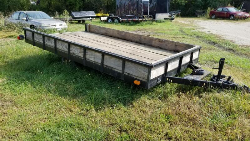 2000 Homemade 6.5x12 High Sided Utility Trailer 2k