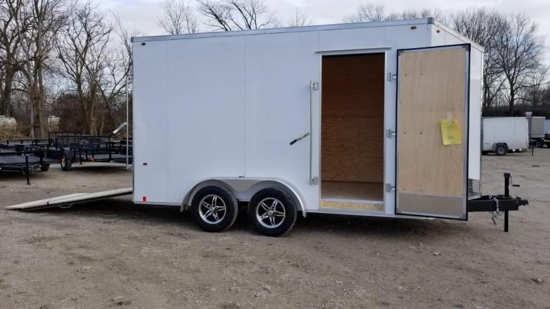 2020 Interstate 7x14 IFC Enclosed Cargo Trailer 7K