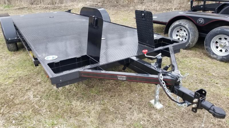 """2020 Kwik Load 7x20 Steel """"Texas Rollback"""" Open Auto Hauler 7k"""