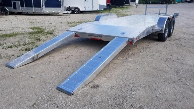 2020 R and R Trailers 7x18 All Aluminum Open Deck Auto Hauler 7k