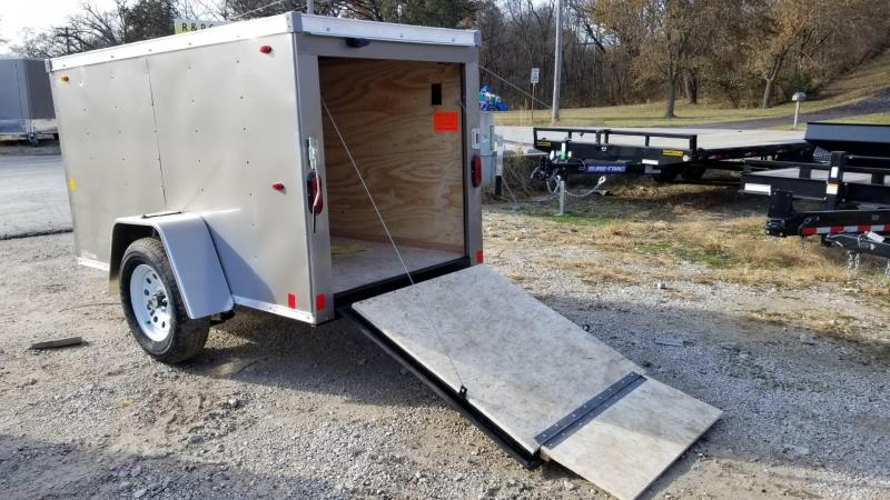 2020 Interstate 4x8 SFC Enclosed Cargo Trailer 3k
