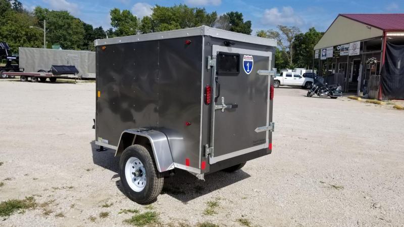 2020 Interstate 4x6 SFC Enclosed Cargo Trailer 2k