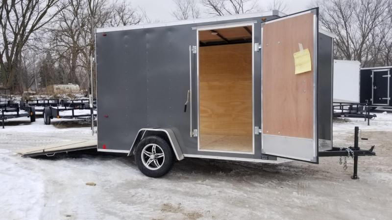 2020 Interstate 7x10 SFC Enclosed Cargo Trailer 3K