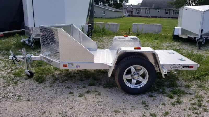 ON ORDER 2020 R and R OMC1 All Aluminum 1 Place Motorcycle Trailer 2.2k