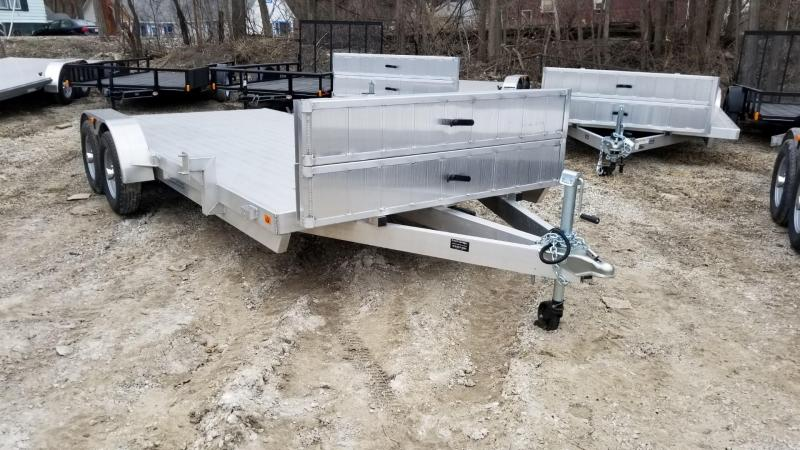 2020 R and R 7x20 All Aluminum Open Car Hauler 10k
