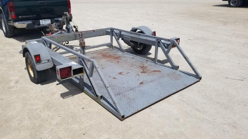 1998 Other 5.5x7 Drop Deck Utility Trailer 3k