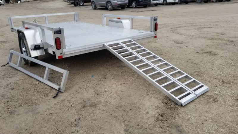 2020 R and R Trailers 7x12 ATP All Aluminum Utility Trailer w/Side Load Ramps 3k