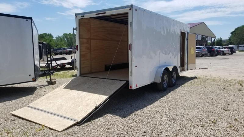2020 Interstate 7x18 STW Enclosed Cargo Trailer 10k