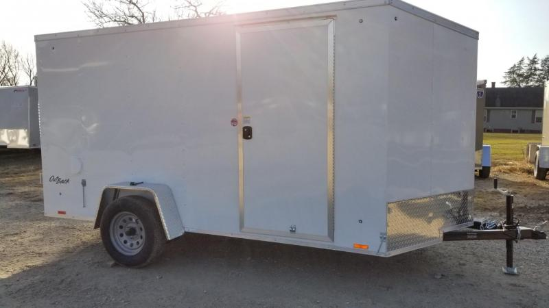2020 Pace 6x12 Outback Deluxe Cargo Trailer w/Barn Doors 3k