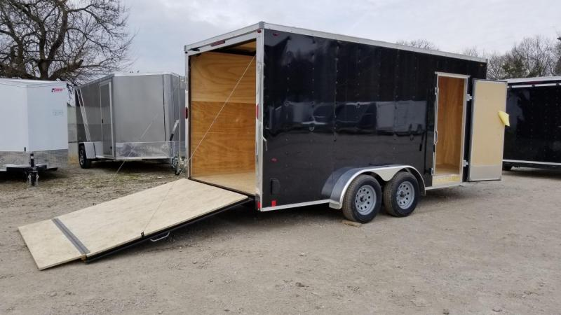 2020 Interstate 7x16 SFC Enclosed Cargo Trailer 7k