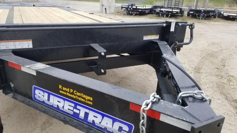 2020 Sure-Trac 8.5x20+5 Deckover Equipment Trailer w/Full Width Ramps 17.6k