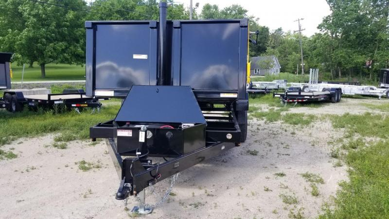 2020 Sure-Trac 82x16 Telescopic Dump Trailer 14k