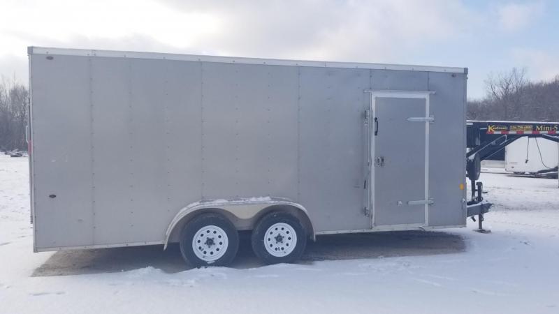 2017 Interstate 7x18 SFC Enclosed Cargo Trailer 7k