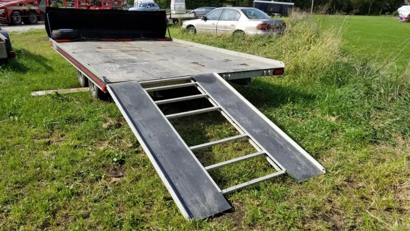 1992 Triton 8x12 Open Deck Snowmobile Trailer 4.4k