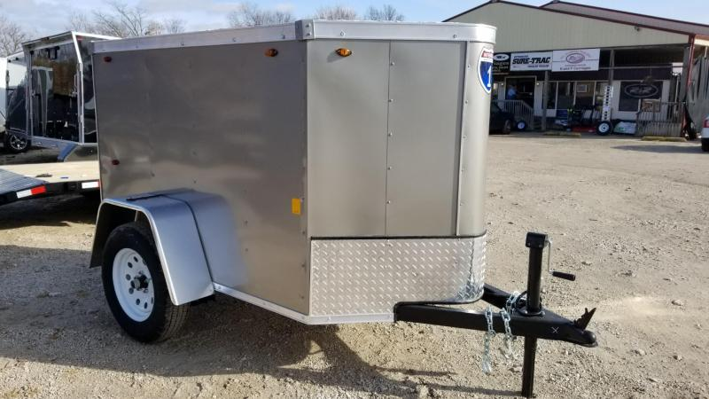 2020 Interstate 4x6 SFC Enclosed Cargo Trailer 3k