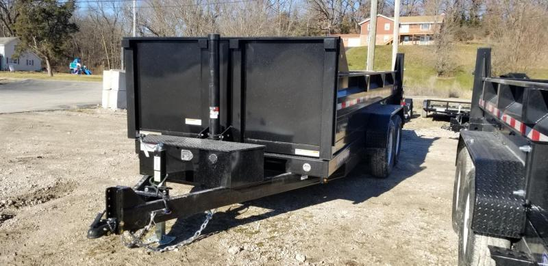 2020 Sure-Trac 82x14 Telescopic Dump Trailer 14k