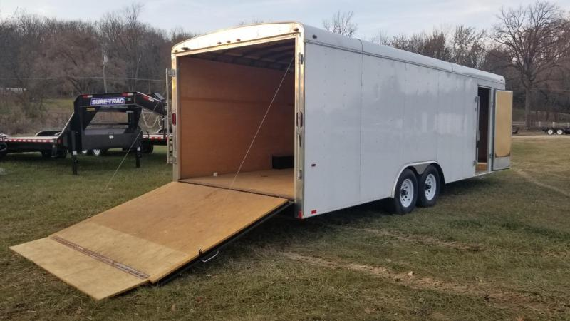 2017 Interstate 8.5x24 IFC Enclosed Car Hauler 10k