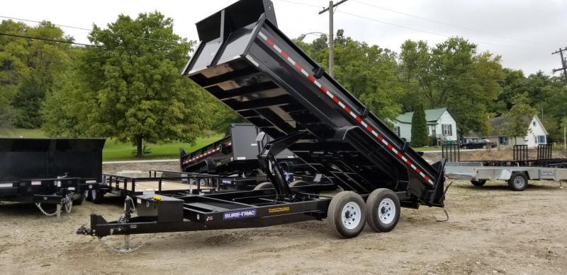2020 Sure-Trac 82x14 Scissor Dump Trailer 14k