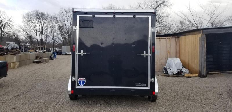 2019 Interstate 7x12 SFC Enclosed Cargo Trailer 7k