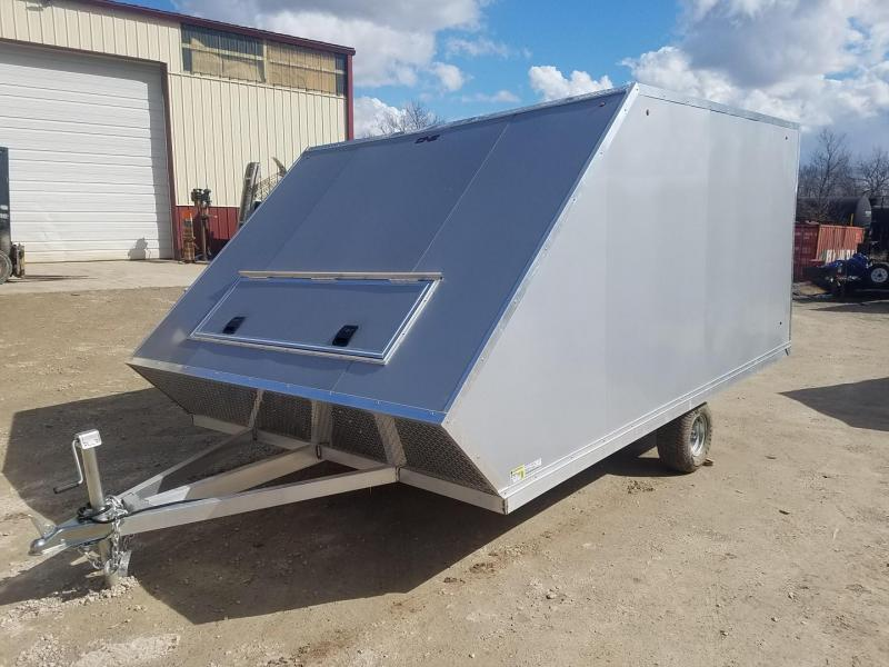 2020 One Trailers 8.5x13 Aluminum Snowmobile Trailer 3k