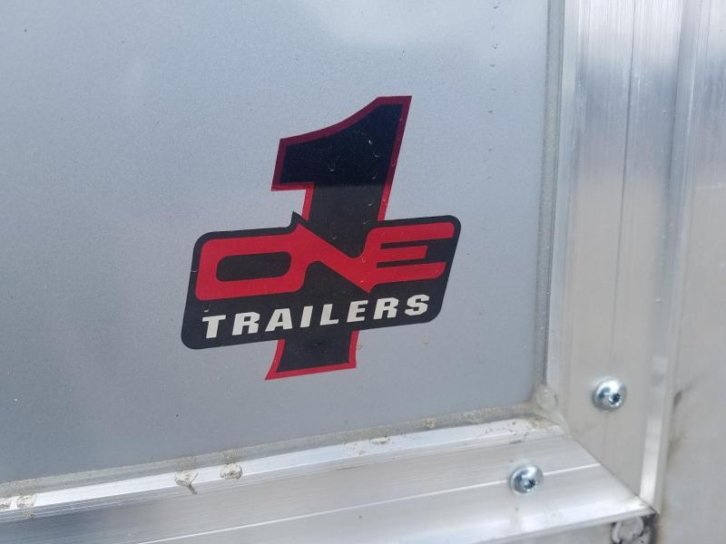 2020 One Trailers 8.5x13 Aluminum Snowmobile Trailer 3k