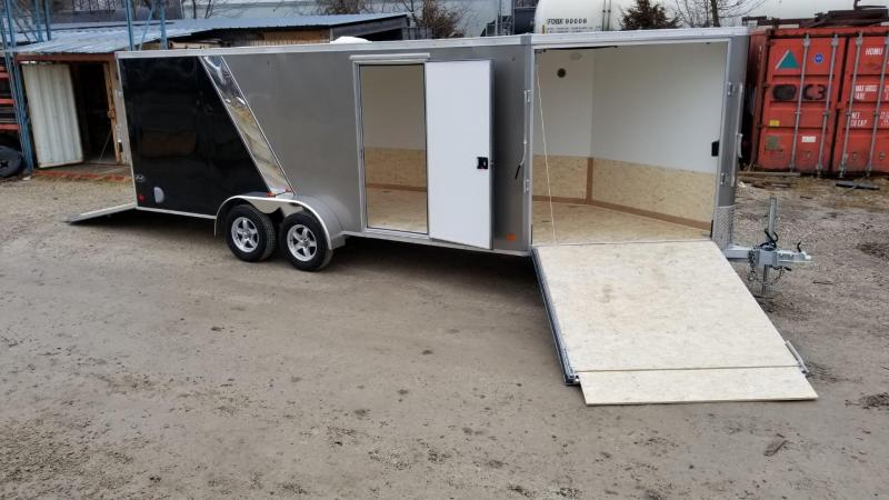 2020 R and R 7x18 Slasher Elite All Aluminum Snowmobile Trailer 7k