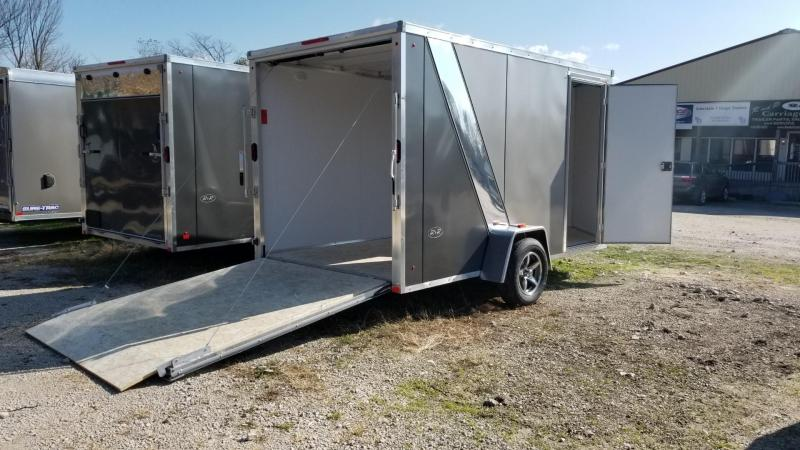 2020 R and R 7x12 FE Aluminum Enclosed Cargo Trailer 3k