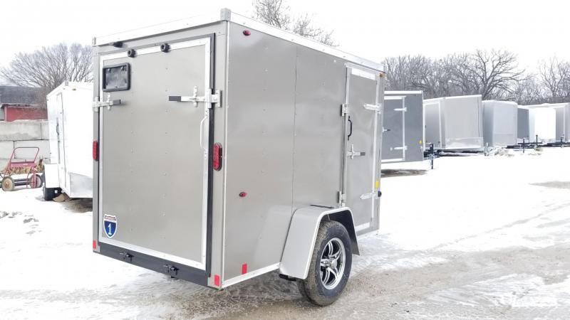 2020 Interstate 5x8 SFC Enclosed Cargo Trailer 3k