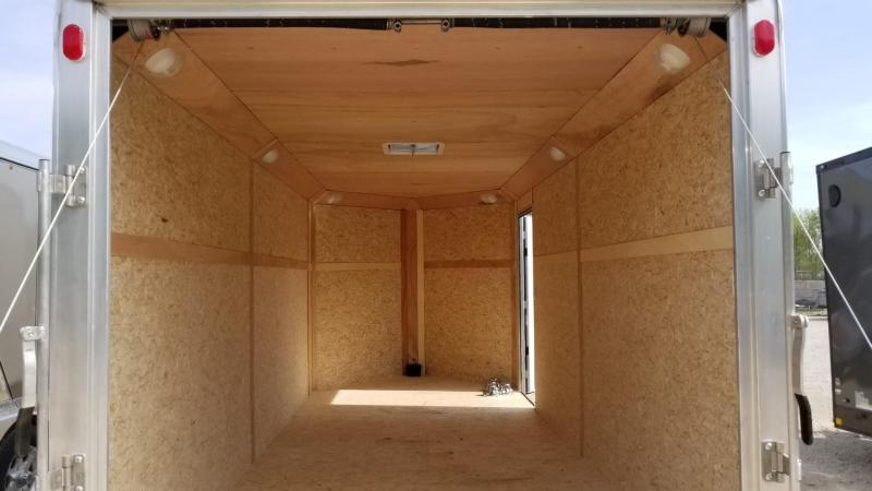 ON ORDER 2020 R and R 7x16 VDC Deluxe Enclosed Cargo Trailer 7k