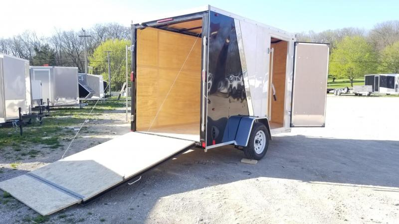 2020 Interstate 6x10 SFC Enclosed Cargo Trailer 3k