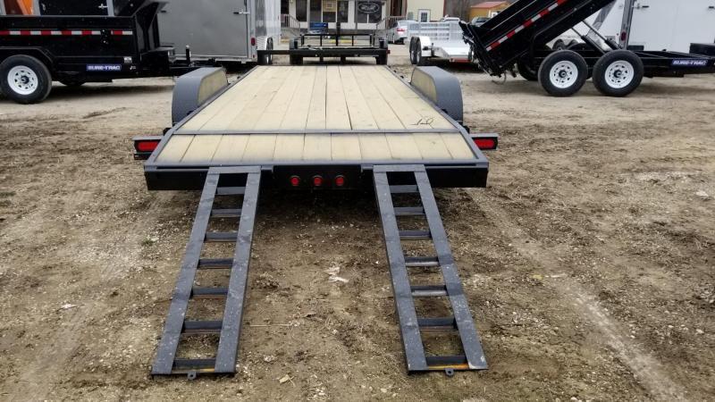 2020 M.E.B 7x20 Wood Deck Car Hauler 10K