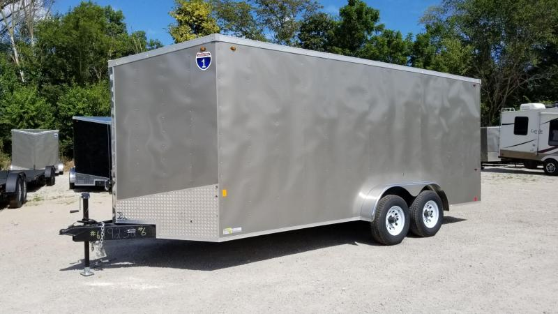 FOR RENT ONLY #6 7x18 Interstate Cargo Trailer