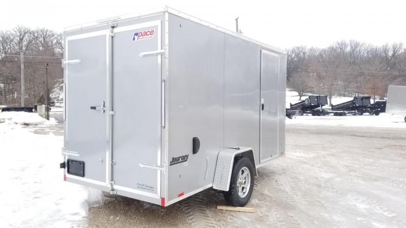 2020 Pace 6x12 Journey Se Cargo Trailer w/Barn Doors 3k