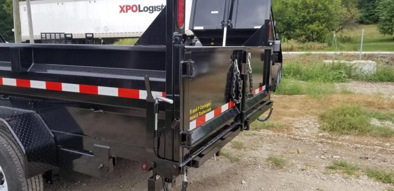2020 Sure-Trac 82x14 Dual Ram Dump Trailer 14k