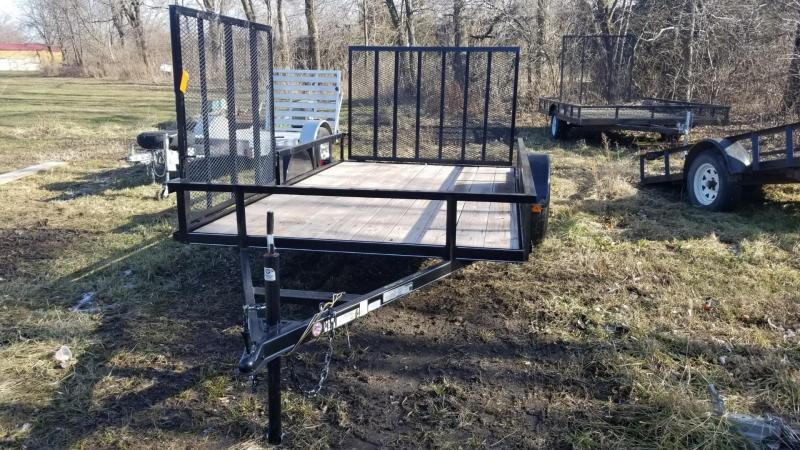 2019 Carry-On 6x12 Utility Trailer w/Side Ramp 3k