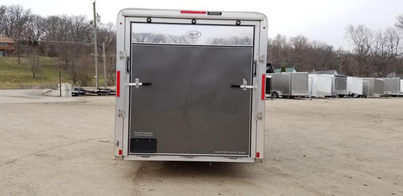 2020 R and R 7x16 VDCP All Aluminum Enclosed Toy Hauler Trailer 7k