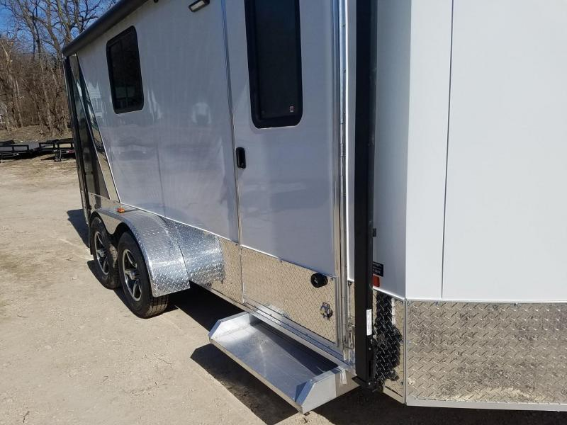 2020 R and R 7x16 VDCP All Aluminum Enclosed Cargo Trailer 7k