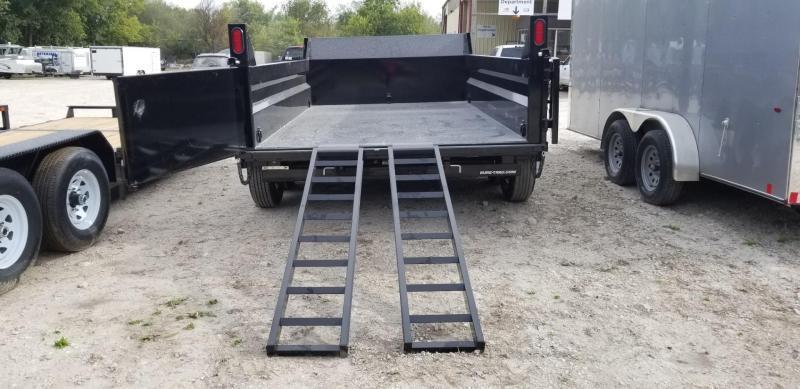 2020 Sure-Trac 82x12 Dual Ram Dump Trailer 12k