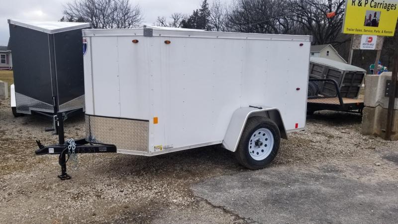 2020 Interstate 4x8 SFC Enclosed Cargo Trailer 3k