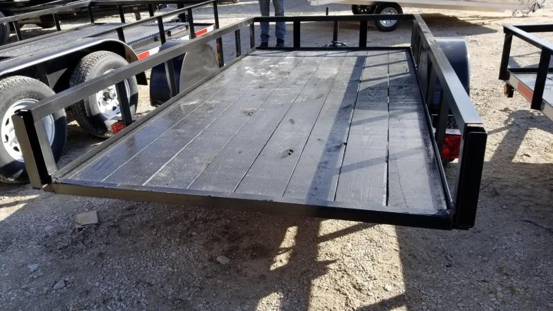 2019 MEB 5x10 Angle Iron Tilt Utility w/Board Holders 3.5k